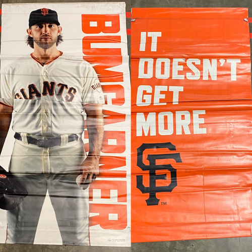Photo of 2019 Street Banner - #40 Madison Bumgarner