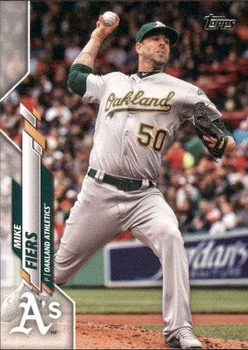 Photo of 2020 Topps #212 Mike Fiers