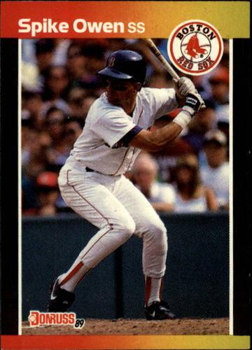 Photo of 1989 Donruss #593 Spike Owen DP