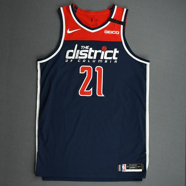 Image of Moritz Wagner - Washington Wizards - Game-Worn Statement Edition Jersey - 2019-20 NBA Season