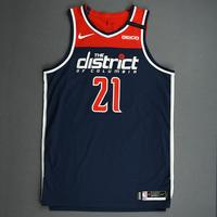 Moritz Wagner - Washington Wizards - Game-Worn Statement Edition Jersey - 2019-20 NBA Season