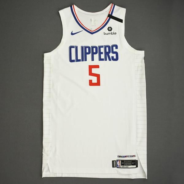 Image of Montrezl Harrell - Los Angeles Clippers - Game-Worn Association Edition Jersey - 2019-20 NBA Season