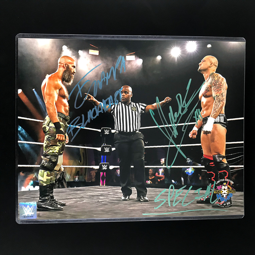 Photo of Tommaso Ciampa and Karrion Kross SIGNED In Your House 2020 11x14 Photo (#1)