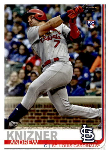 Photo of 2019 Topps Update #US182 Andrew Knizner RC