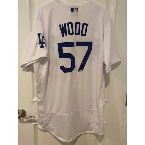 Alex Wood Authentic Autographed Los Angeles Dodgers Jersey