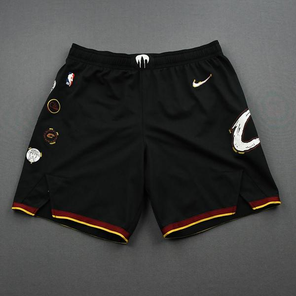 Image of Isaiah Hartenstein - Cleveland Cavaliers - Game-Issued City Edition Shorts - 2020-21 NBA Season