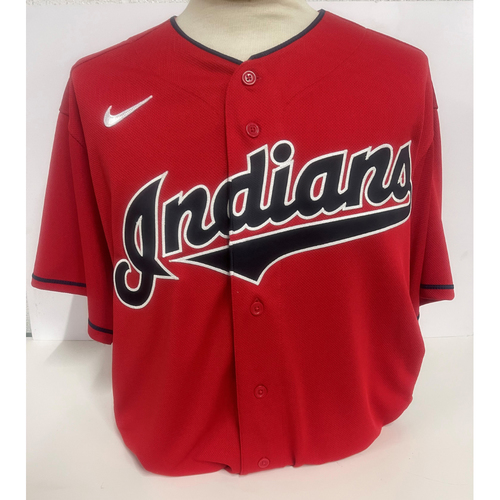 Photo of Game-Used Jersey - Jordan Luplow #8 - 5/12/2021 - Cubs at Indians