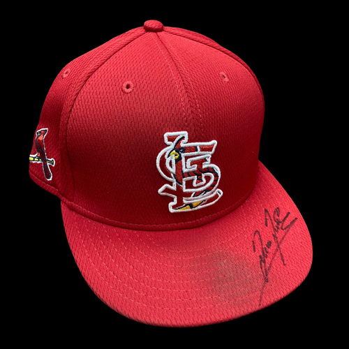 Photo of Giovanny Gallegos Autographed Team Issued Spring Training Cap (Size 7 1/4)