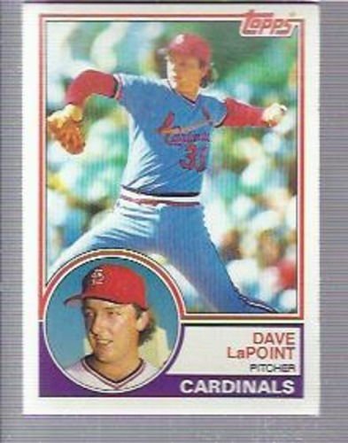 Photo of 1983 Topps #438 Dave LaPoint