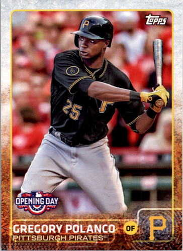 Photo of 2015 Topps Opening Day #15 Gregory Polanco