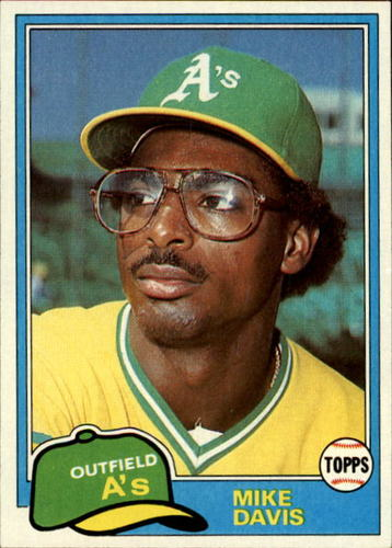 Photo of 1981 Topps #364 Mike Davis RC