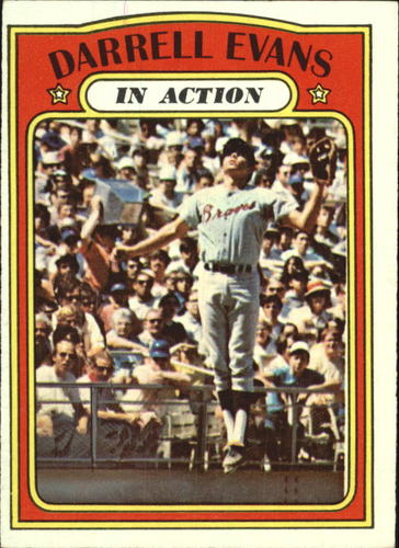 Photo of 1972 Topps #172 Darrell Evans IA