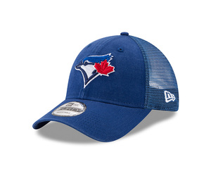 Toronto Blue Jays Youth Trucker Washed Ajustable Snap Cap by New Era