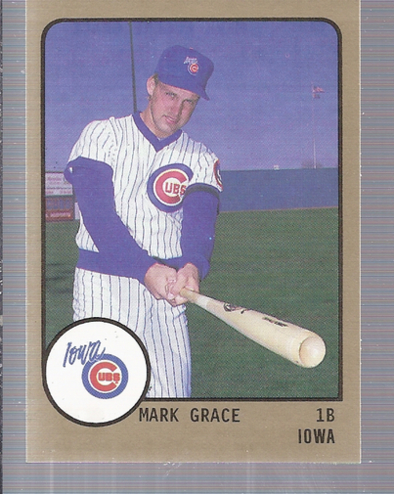 1988 Iowa Cubs ProCards #539 Mark Grace