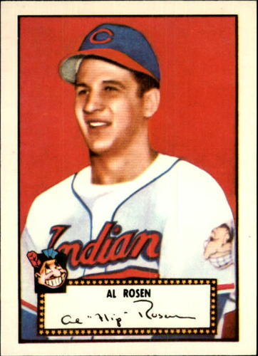 Photo of 1983 Topps 1952 Reprint #10 Al Rosen