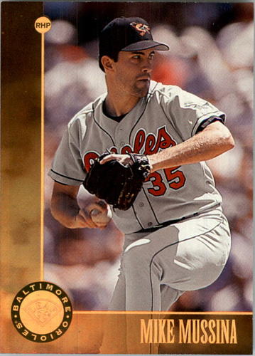 Photo of 1996 Leaf Bronze Press Proofs #191 Mike Mussina