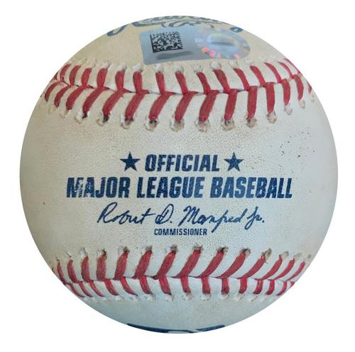 Photo of Game-Used Baseball from Pirates vs. Cubs on 5/29/18 - Jon Lester RBI Single