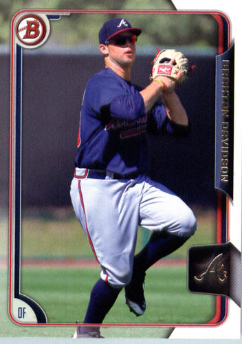 Photo of 2015 Bowman Draft #186 Braxton Davidson