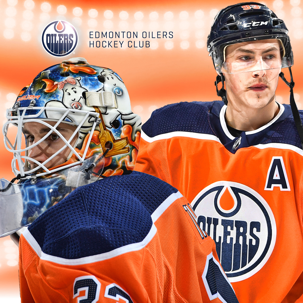 Edmonton Oilers Ryan Nugent-Hopkins & Cam Talbot Private Meet And Greet VIP Package Including Oilers Practice Viewing And Tour Of The Oilers Hall Of Fame Room At Rogers Place