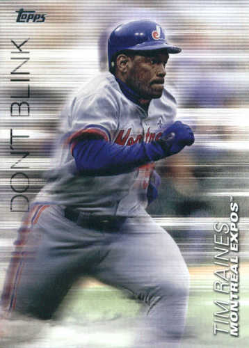 Photo of 2018 Topps Update Don't Blink #DB2 Tim Raines