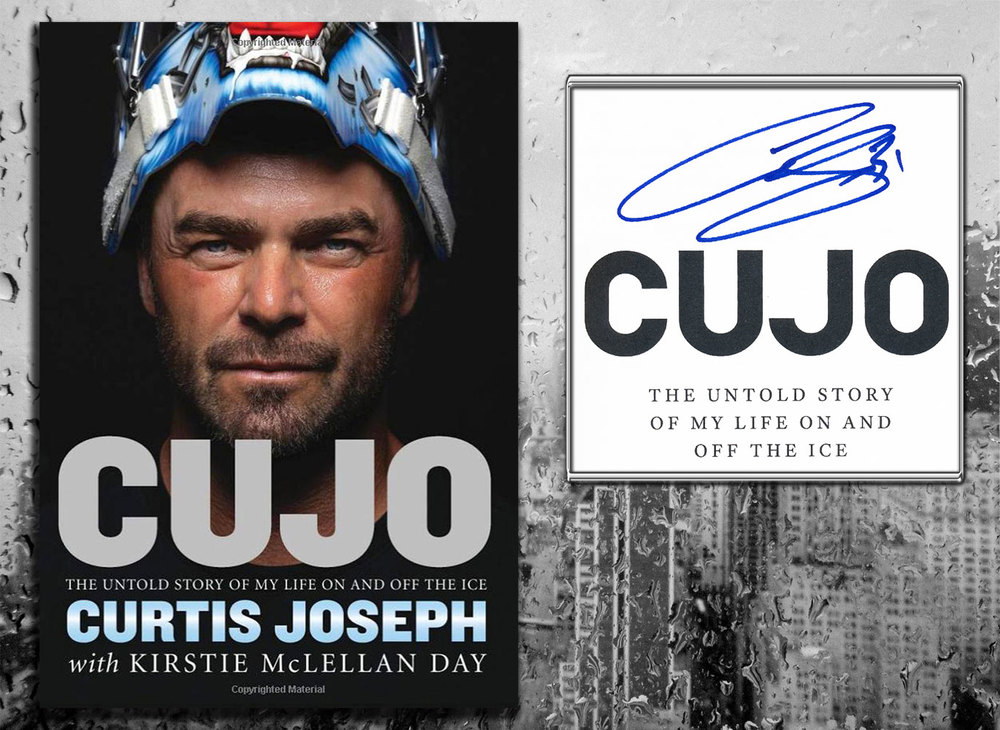 Curtis Joseph CUJO: The Untold Story Of My Life On And Off The Ice Signed Hardcover Book