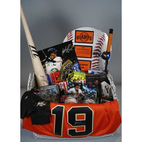 "Photo of Giants Wives Auction: Tyler Austin ""Favorite Things"" Basket"