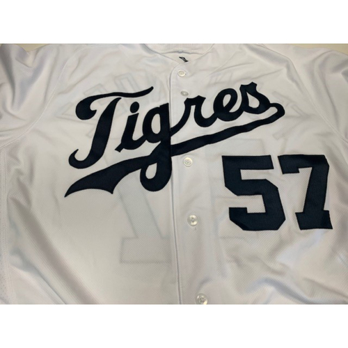 Photo of Team-Issued Fiesta Tigers Jersey: Jose Fernandez