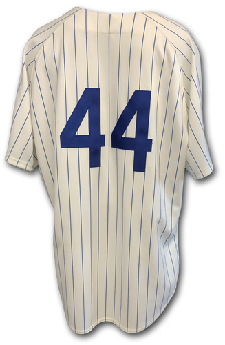 Photo of Anthony Rizzo Game-Used 1969 Uniform -- Rizzo 2 Hits, 1 Run -- Reds vs. Cubs -- 7/16/19