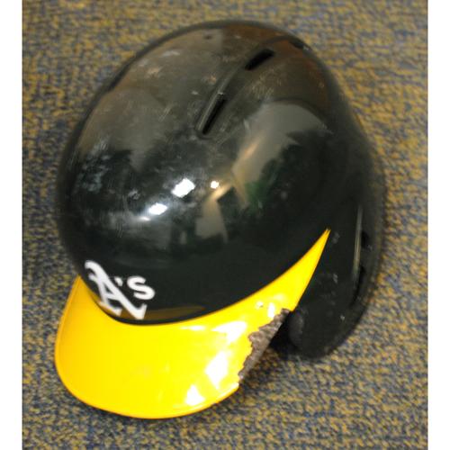 Photo of Matt Chapman 2019 Game-Used Helmet