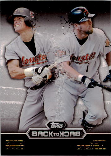 Photo of 2016 Topps Back to Back #B2B7 Jeff Bagwell/Craig Biggio