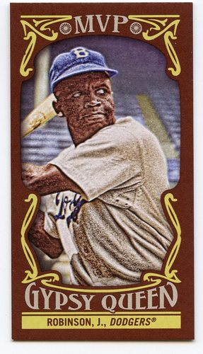 Photo of 2016 Topps Gypsy Queen MVP Minis #MVPMJR Jackie Robinson