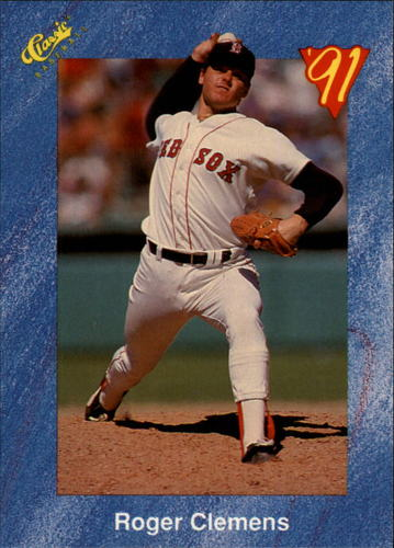 Photo of 1991 Classic I #T18 Roger Clemens