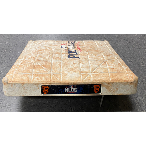 Photo of 2016 NLDS Game 3 Game Used 3rd Base used on 10/10 vs. Chicago Cubs in Innings 4 through 6