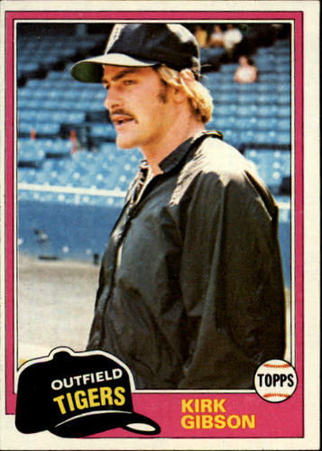 Photo of 1981 Topps #315 Kirk Gibson RC