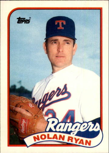 Photo of 1989 Topps Traded #106T Nolan Ryan