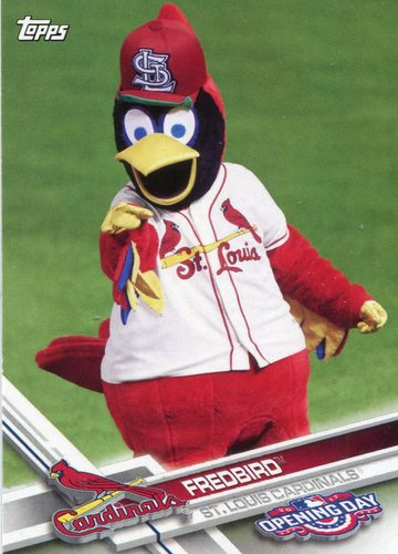 Photo of 2017 Topps Opening Day Mascots #M15 Fredbird