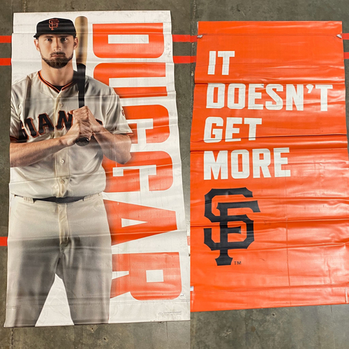 Photo of 2019 Street Banner - #6 Steven Duggar
