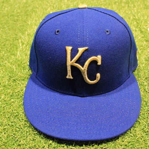 Photo of Game-Used 2020 Gold Hat: Nick Heath #0 (Size 7 - DET @ KC 9/25/20)