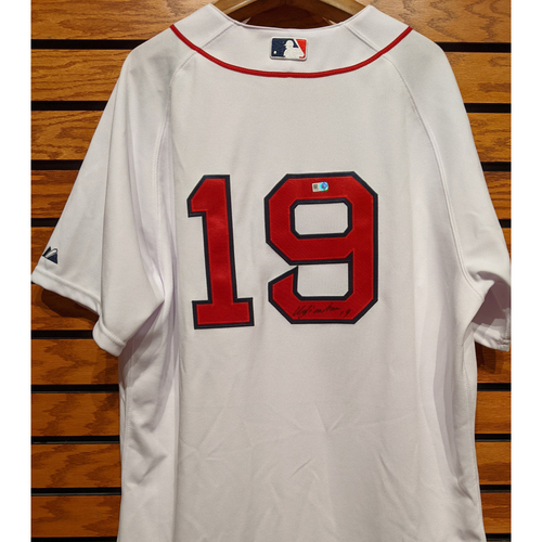 Photo of Koji Uehara #19 Autographed Home White Jersey