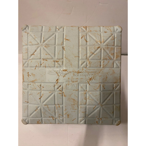 Photo of NL Wild Card Game Used Base -  10/1/20 2nd Base Used Innings 7-9 - Braves Clinch WC Round
