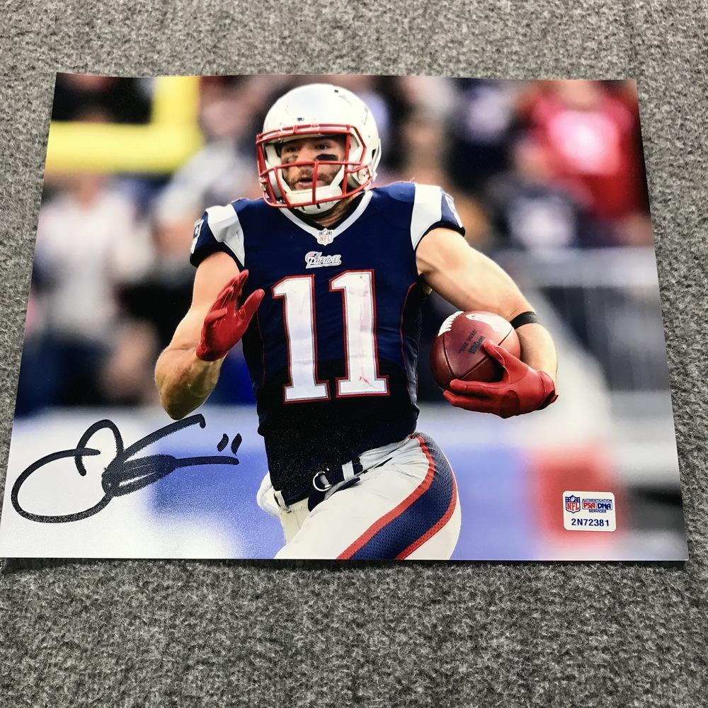 Patriots - Julian Edelman Signed 8x10 Photo