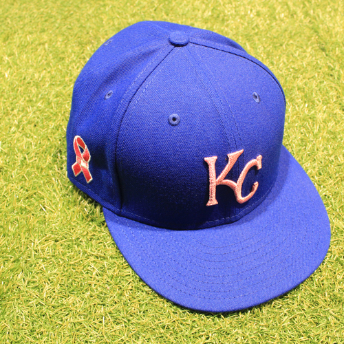 Photo of Game-Used 2021 Mother's Day Hat: Danny Duffy #30 - Size 7 3/4