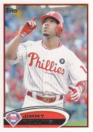 Photo of 2012 Topps #617 Jimmy Rollins