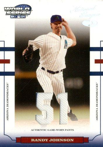 Photo of 2004 Donruss World Series Material Fabric Number #9 Randy Johnson Pants/51