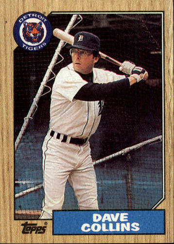 Photo of 1987 Topps #148 Dave Collins