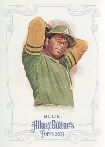 Photo of 2013 Topps Allen and Ginter #146 Vida Blue