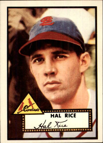 Photo of 1983 Topps 1952 Reprint #398 Hal Rice