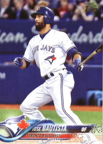 Photo of 2018 Topps #238 Jose Bautista