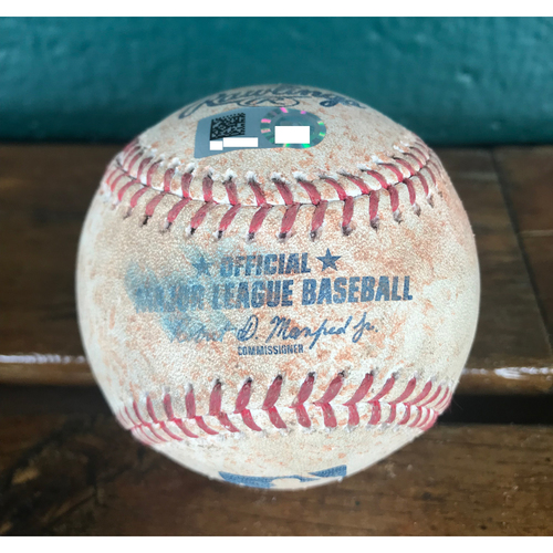Cardinals Authentics: Game-Used Baseball Pitched by Michael Wacha to Tim Anderson & Jose Abreu *Ground Out, Single*