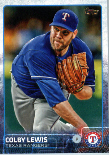Photo of 2015 Topps Update #US151A Colby Lewis